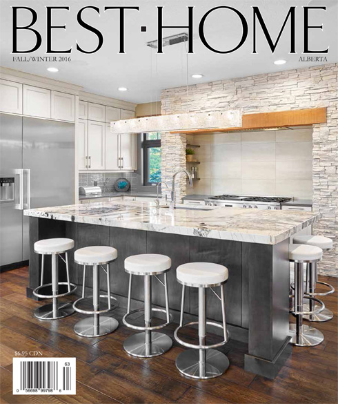 Front Cover:<br>Best Home Magazine